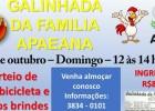 Domingo dia 22 de outubro a Galinhada da Família Apaeana