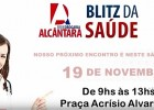 BLITZ DE SAÚDE REDE ALCÂNTARA NESTE SÁBADO 19 VENHA PARTICIPAR