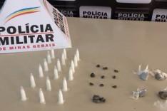 Homem é preso no bairro Santo Hipólito por tráfico de drogas