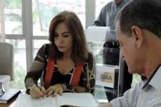 1ª mulher prefeita de Itabira – Ronaldo tira férias e Dalma assume