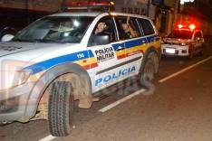 Bandido armado faz arrastão levando dinheiro e celulares de cliente no bar da Creusa no Clóvis Alvim
