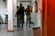PM prende individuo logo depois de arrombar e furtar em Deposito no Centro de Itabira