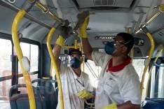 Além da higienização da frota a Transportes Cisne comunica mudança nos horários dos coletivos em Itabira