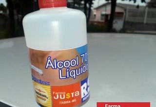 Covid-19: Farma JU$TA Itabira faz doação de álcool 70% para instituição Lar de Ozanan