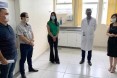 Prefeitura entrega reforma da Clínica Médica III do Carlos Chagas e conquista aumento de R$ 7 milhões no Teto MAC