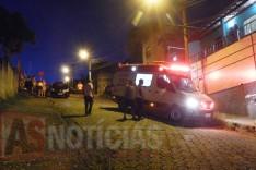 Homem é atropelado quando subia Rua Niquem no bairro Água Fresca em Itabira