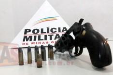 ROCCA prende homem e apreende revolver e munições no bairro Eldorado
