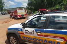 Quatro manifestantes são presos por descumprir ordem para liberação da MG-129 no Capada