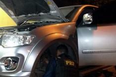 Empresário é preso pela PRF com caminhonete roubada e clonada