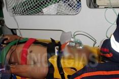 Disparos de arma de fogo deixou dois homens feridos no bairro Pedreira do Instituto em Itabira