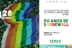 Coletivo de Ativistas de Itabira promoverá ato pelos 50 anos da Rebelião de Stonewall