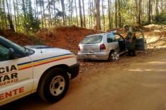 Policiais de Meio Ambiente localizam Gol furtado de Nova Era antes que dono tomasse conhecimento do furto