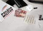 PM APREENDE ADOLESCENTE NO BARREIRO COM DROGAS AS MARGENS DA MG-129