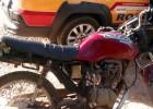 PRV APREENDE MOTOCICLETA COM CHASSI RASPADO NA MG-434 EM BOM JESUS DO AMPARO
