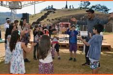 Fundação Cultural e o músico Juninho Ibituruna promovem oficina  de percussão para crianças no próximo sábado