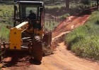 Mais segurança e conforto – Prefeitura recupera estrada rural na localidade de Angico