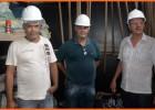Comissão de serviços públicos municipais visita obras de reforma estrutural da ponte Benedito Valadares