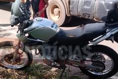 Jovens ficam feridos em acidente com uma motocicleta na rodovia MG-129 próximo ao Presidio em Itabira