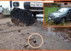 Dois homens baleados um carro clonado recuperado em uma possível troca de tiros na MG-129  no Barro Branco