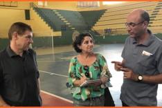 Investimentos no esporte – SME inicia reformas no poliesportivo