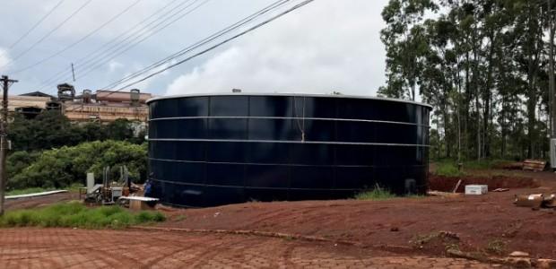 Prefeitura irá concluir reservatório de água em dois meses