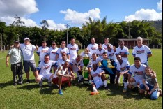 Máster Santa Bárbara sagra-se campeão do Campeonato Máster 2018
