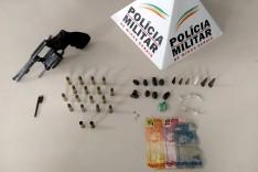 Armado com revólver, homem agride a esposa, ameaça militares e acaba baleado em João Monlevade