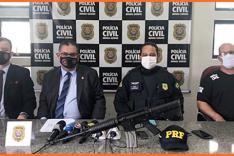 PCMG e PRF prendem um dos criminosos mais procurados do país