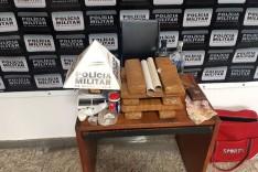 Homem é preso com grande quantidade de drogas em Barão de Cocais