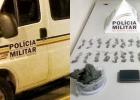 PM apreende menor com 62 buchas de maconha, por tráfico de drogas em Santa Bárbara.