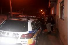 PM de Barão de Cocais apreende droga, arma de fogo e suspeito de trafico de drogas na cidade.