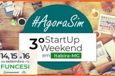 Acontece em Itabira o 3º StartUp Weekend
