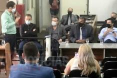 Câmara realiza reunião com a VALE para discutir Plano de Emergência para presídio de Itabira