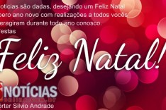 O portal de noticias asnoticiasonline.com.br deseja a todos um feliz Natal