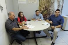 Diretor da Faculdade Pitágoras se reúne com a vice-prefeita
