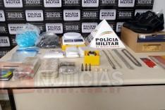 PM recebe denúncia e prende traficante no bairro Teresópolis