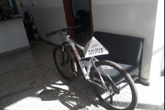 PM de Barão de Cocais recupera bicicleta avaliada em 4 mil reais e prende suspeito do crime