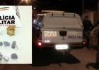 Polícia recebe denúncia e apreende drogas na Travessa Mariana
