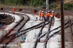 Vale informa sobre atividades de manutenção no trem do ramal Itabira/Nova Era