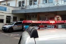 Briga por causa de cobrança de divida termina com um homem ferido por golpe de canivete no bairro Machado