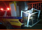 PM de Ferros prende suspeito de receptação de produtos em cubas na zona rural