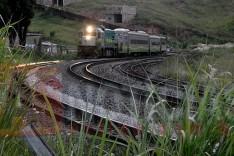 Trem de passageiros permanece com a circulação suspensa