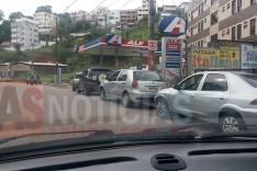 Postos de combustíveis em Itabira já iniciaram as grande filas atrás dos produtos