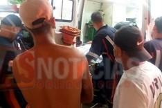 Dois homens foram baleados em frente uma residência no bairro Monsenhor Jose Lopes em Itabira