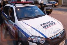 Policiais Militares apreenderam buchas de maconha em operação no aglomerado São Bento