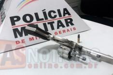 ROCCA apreende adolescente de 17 anos com revolver na Avenida Mariana no bairro Jardim das Oliveiras