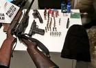 Homem é preso com varias armas de fogo no Distrito de Senhora do Carmo