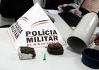 PM realiza operação cidade segura e prende um suspeito de trafico de drogas no Candidopolis