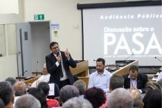 André Viana presidiu a audiência pública sobre Pasa