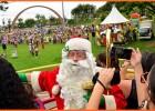 De forma voluntária, Papai Noel recebe mais de mil crianças neste domingo em Itabira